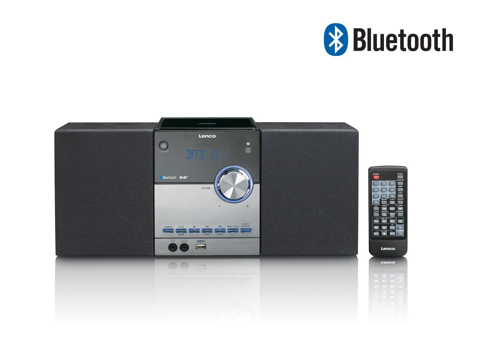 Complete stereoset met speakers Lenco MC-150