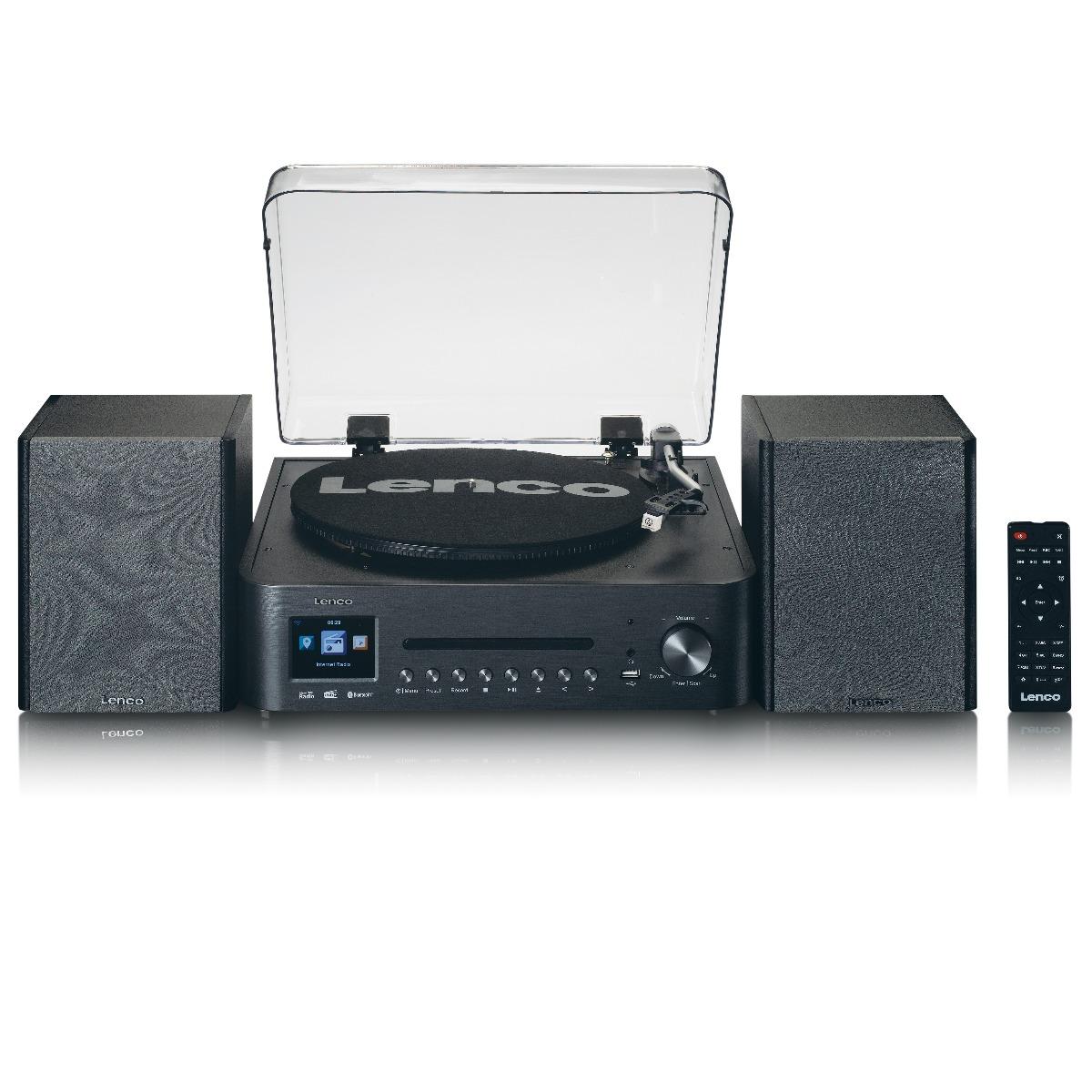 Alles-in-een muziekapparaat Lenco MC-460BK