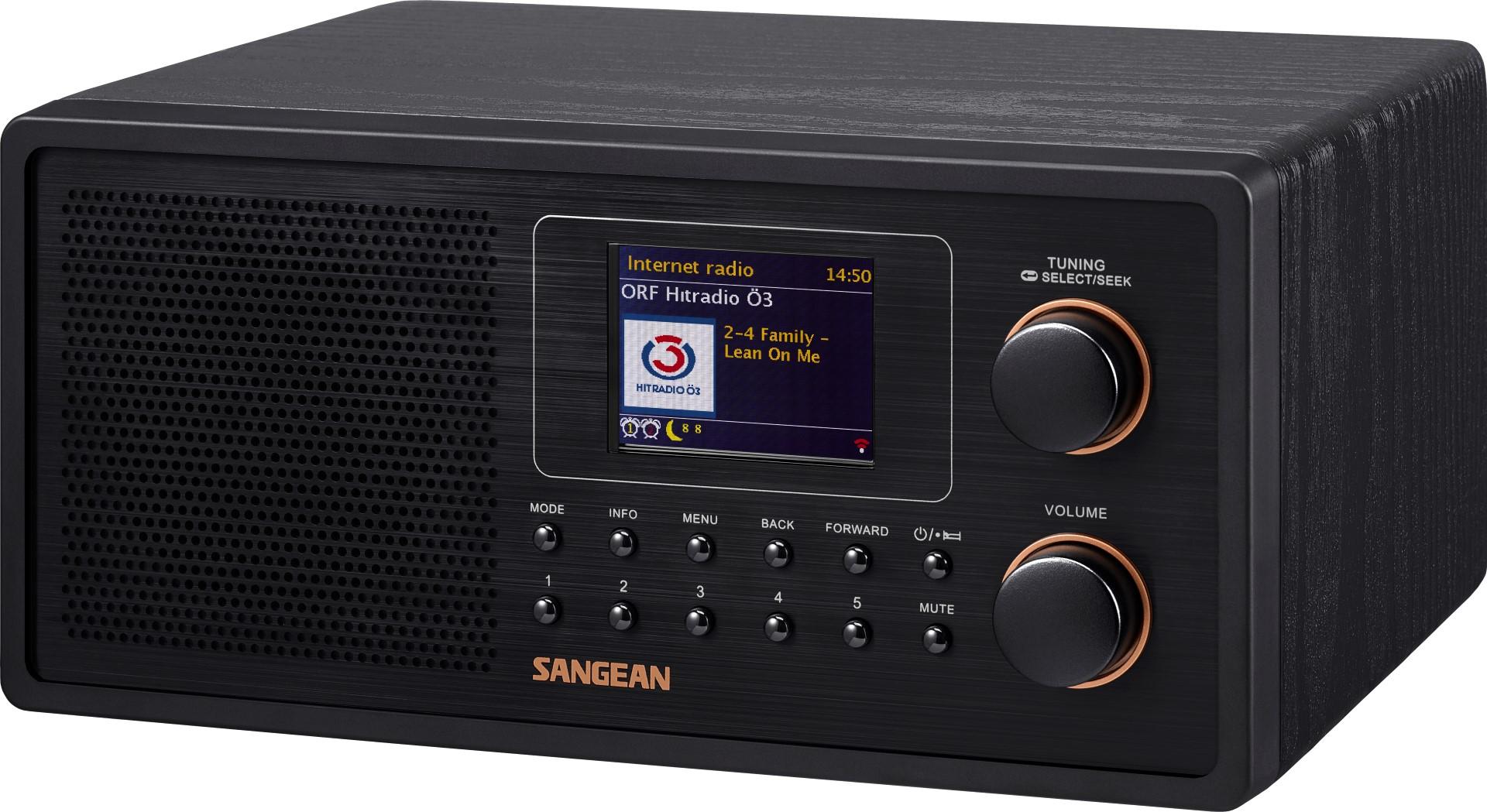 Internet radio met DAB+, FM, USB en Spotify - Sangean WFR-30